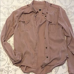 Universal Thread Mauve Button Down